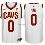 Divise Basket Personalizzate NBA Cleveland Cavaliers NO.0 Kevin Love Bianco 2017/2018