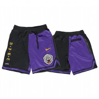 Scontate Pantaloni NBA L.A.Lakers Nike Pourpre