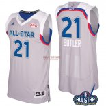 Divise Basket Personalizzate NBA 2017 All Star NO.21 Jimmy Butler Grigio