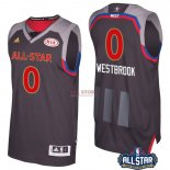 Divise Basket Personalizzate NBA 2017 All Star NO.0 Russell Westbrook Carbone