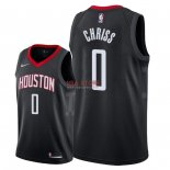 Divise Basket Personalizzate NBA Houston Rockets NO.0 Marquese Chriss Nero Statement 2018