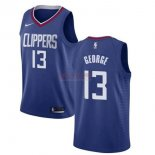 Divise Basket Personalizzate NBA Bambino L.A.Clippers NO.13 Paul George Blu Icon 2019-20