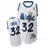Divise Basket Personalizzate NBA Orlando Magic NO.32 Shaquille O'Neal Bianco