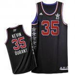Divise Basket Personalizzate NBA 2015 All Star NO.35 Kevin Durant Nero