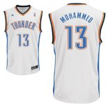 Divise Basket Personalizzate NBA Oklahoma City Thunder NO.13 James Harden Bianco