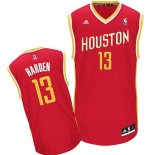 Divise Basket Personalizzate NBA Houston Rockets NO.13 James Harden Retro Rosso
