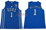 Divise Basket Personalizzate Duke NO.1 Zion Williamson Blu