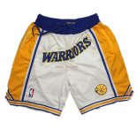 Scontate Pantaloni NBA Golden State Warriors Curry Bianco