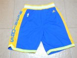 Scontate Pantaloncini NBA Golden State Warriors Retro Blu
