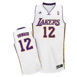 Divise Basket Personalizzate NBA L.A.Lakers NO.12 Dwight Howard Bianco