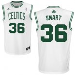 Divise Basket Personalizzate NBA Boston Celtics NO.36 Marcus Smart Bianco