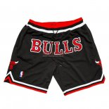 Scontate Pantaloncini NBA Chicago Bulls Nike Retro Nero