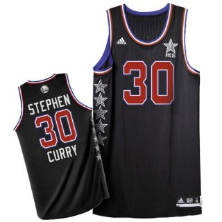 Divise Basket Personalizzate NBA 2015 All Star NO.30 Stephen Curry Nero