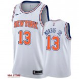 Divise Basket Personalizzate NBA New York Knicks NO.13 Marcus Morris Sr Bianco Statement 2019-20