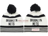 Scontate Knit Cappello NBA Brooklyn Nets Bianco