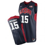 Divise Basket Personalizzate NBA 2012 USA Anthony NO.15 Nero