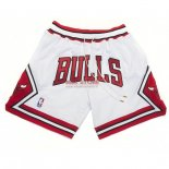 Scontate Pantaloncini NBA Chicago Bulls Nike Retro Bianco