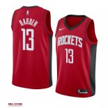 Divise Basket Personalizzate NBA Houston Rockets NO.13 James Harden Rosso Icon 2019-20