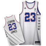 Divise Basket Personalizzate NBA 2015 All Star NO.23 LeBron James Bianco