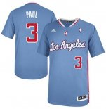 Divise Basket Personalizzate NBA L.A.Clippers Manica Corta NO.3 Chris Paul Blu