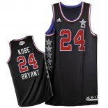 Divise Basket Personalizzate NBA 2015 All Star NO.24 Kobe Bryant Nero