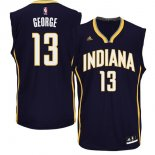 Divise Basket Personalizzate NBA Indiana Pacers NO.13 Paul George Blu