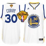 Divise Basket Personalizzate NBA Golden State Warriors Finale NO.30 Curry Bianco
