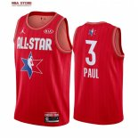 Divise Basket Personalizzate NBA 2020 All Star Chris Paul NO.3 Rosso