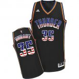 Divise Basket Personalizzate NBA USA Flag Special Edition NO.35 Durant Nero