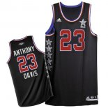 Divise Basket Personalizzate NBA 2015 All Star NO.23 Baron Davis Nero