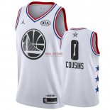 Divise Basket Personalizzate NBA 2019 All Star DeMarcus Cousins NO.0 Bianco