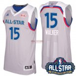 Divise Basket Personalizzate NBA 2017 All Star NO.15 kemba Walker Grigio