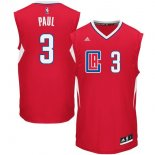 Divise Basket Personalizzate NBA L.A.Clippers NO.3 Chris Paul Rosso