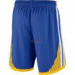 Scontate Pantaloncini NBA Golden State Warriors Nike Blu