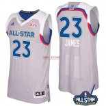 Divise Basket Personalizzate NBA 2017 All Star NO.23 Lebron James Grigio