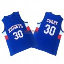 Divise Basket Personalizzate Knight High School NO.30 Curry Blu