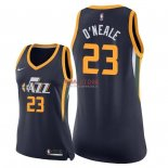 Divise Basket Personalizzate NBA Donna Utah Jazz NO.23 Royce O'Neale Marino Icon 2018