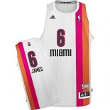 Divise Basket Personalizzate NBA Miami Heats ABA NO.6 James Bianco