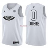 Divise Basket Personalizzate NBA 2018 All Star DeMarcus Cousins NO.0 Bianco