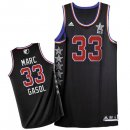 Divise Basket Personalizzate NBA 2015 All Star NO.33 Marc Gasol Nero