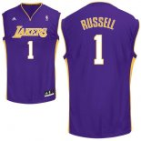 Divise Basket Personalizzate NBA L.A.Lakers NO.1 D'Angelo Russell Purpura