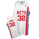 Divise Basket Personalizzate NBA Brooklyn Nets ABA NO.32 Erving Bianco