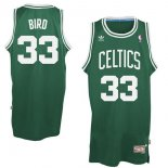 Divise Basket Personalizzate NBA Boston Celtics NO.33 Larry Joe Bird Verde