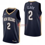 Divise Basket Personalizzate NBA New Orleans Pelicans NO.2 Ian Clark Marino Icon 2017/2018