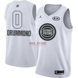 Divise Basket Personalizzate NBA 2018 All Star Andre Drummond NO.0 Bianco