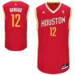 Divise Basket Personalizzate NBA Houston Rockets NO.12 Dwight Howard Retro Rosso