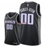 Divise Basket Personalizzate NBA Sacramento Kings NO.0 Willie Cauley Stein Nero Statement 2018