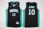 Divise Basket Personalizzate NBA Memphis Grizzlies NO.10 Mike Bibby Nero