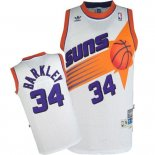 Divise Basket Personalizzate NBA Phoenix Suns NO.334 Charles Barkley Bianco