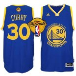 Divise Basket Personalizzate NBA Golden State Warriors Finale NO.30 Curry Blu